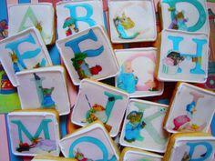 Beatrix Potter ABC Alphabet  baby animal by QueenofTartsWafers, $14.00