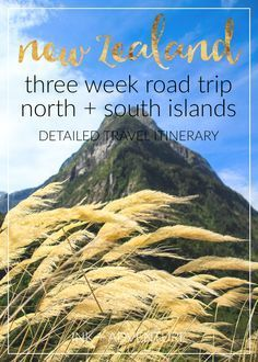 three weeks in New Zealand: our itinerary