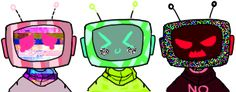 TV Heads by DonitKitt on DeviantArt