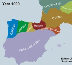The Fascinating Evolution Of Language In The Iberian Peninsula  From Linda: Fascinating stuff here!
