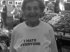 Mrs. Honesty | 23 Senior Citizens Who Don't Give A F*@k