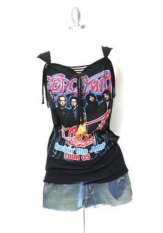 Aerosmith Tank Tunic Dress Top Made From Tour by OneLovePasadena, $59.99