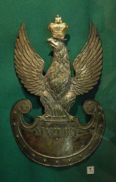 orzeł na czapkę pułku Mazurów-1830