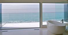 Modern luxury bathtub: $2,000. Italian custom tiles: $5,000. Room with Frameless Sliding Glass Doors: priceless. Schedule your Showroom Visit : http://coverglassusa.com/schedule-showroom-visit/  #coverglass #coverglassusa #framelessglass  #glasswindow #luxurywindows #modernhouse #luxuryhouse #windowsoftheworld #windowsanddoors #modernwindows #homestyle #glasswindows #homestyle #frameless #glassarchitecture #frameless #coverglassusa #luxuryhomes #luxurydecor #interiordesign #luxuryhouses