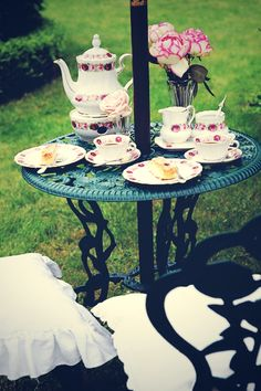 warm tea or coffee on the porch or patio.
