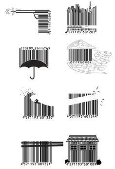 ♥♥♥ Japanese Barcode Art – Graffiti World Barcode Art, Barcode Design, Barcode Tattoo, Logo Design, Urbane Kunst, Name Tattoo Designs, Art Graphique, Grafik Design, Zentangle
