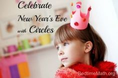 Seeing Circles for the New Year  http://bedtimemath.org/pblog-new-years-eve-party-ideas/  #NewYearsEve #Math #Party