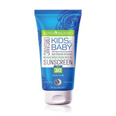 Buy Alteya Certified Organic Sunscreen Kids & Baby SPF30 90ml and other Alteya Organics  products at LoveLula - The World's Natural Beauty Shop. FREE Delivery Worldwide.