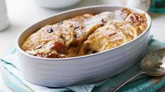 VMBS GET COOKING : Hot cross bun and butter pudding