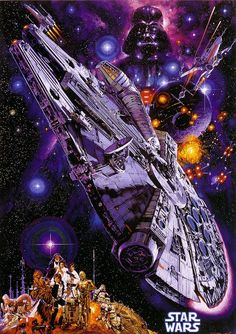Japanese Star Wars Illustration by Noriyoshi Ohrai