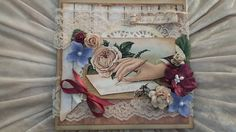 vintage I Card, Decorative Boxes, Embroidery, Beautiful Things, Vintage, Inspiration, Tags, Home Decor, Blogging
