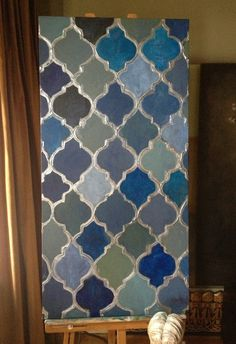 Moroccan Style Painting  Moroccan Decor  by theTrendingArtStudio, $140.00