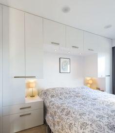 Bedroom Built Ins Around Bed . Bedroom Built Ins Around Bed . Built In Wardrobe & Desk Bedroom Built Ins, Small Master Bedroom, Closet Bedroom, Home Decor Bedroom, Bedroom Ideas, White Bedroom, Small Bedroom Wardrobe, Closet Wall, Wardrobe Bed
