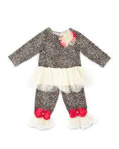 Rock-a-Bye Baby Swing Top & Pants Set, 12-24 Months  by Cach Cach at Neiman Marcus.