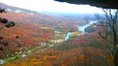 Chiminey Rock mountain in Ashville, NC.