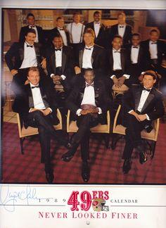 49er Nation SF Niners San Francisco 49ERS Niners for Life! 1989 49er's calendar.