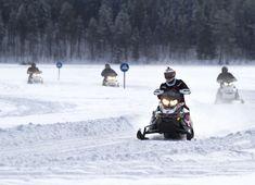 Länsi-Lapissa sijaitsevassa Pellossa on yli 120 km moottorikelkkareittejä