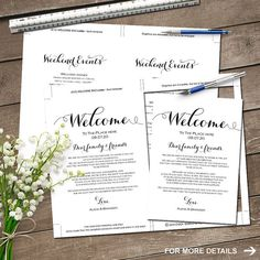 Wedding Weekend Timeline Template Wedding Weekend Itinerary