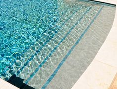 pools with trim tile on steps | Residential Swimming Pool Tile Trim