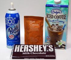 Frozen Hot Chocolate & International Delight Iced Coffee Surprise | The Gunny Sack