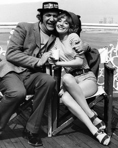 Bernard Bresslaw and Jacki Piper. Carry On At Your Convenience. 1971