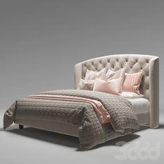 3d модели: Кровати - Кровать