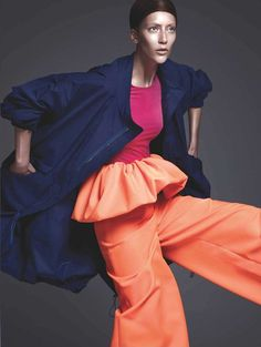 NOIR FAÇADE - The place for fashion editorials. - Colore | Alana Zimmer by Ishi for Amica February 2011