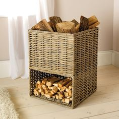 Natural Kubu Segmented Storage Basket from The White Company