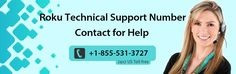 Roku is the most prominent platform to encounter a batter streaming but sometimes it has some technical problems. We are giving Roku technical support phone number service for all Roku users. The problems with Roku player are not difficult, but still, problems are problems, and they must be sorted out.
