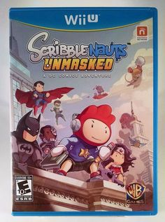 Scribblenauts Unmasked A DC Comics Adventure Nintendo Wii U *** See this great product. (This is an affiliate link) Ps3, Instant Gaming, Geek Games, Pc Games, Fun Games For Kids, Dc Comics Characters, Game Sales, Comics Universe, Nintendo 3ds