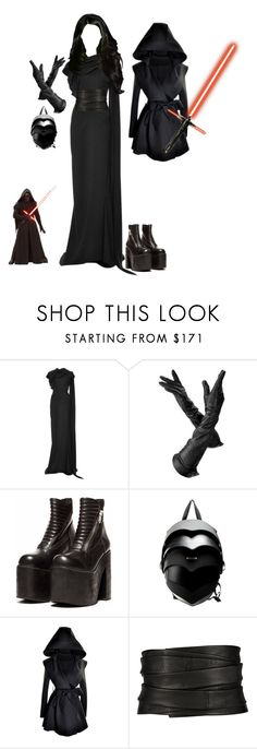 """""""Kylo Ren"""" by rabbitcult ❤ liked on Polyvore featuring Zac Posen, Aspinal of London, The Row, women's clothing, women's fashion, women, female, woman, misses and juniors"""