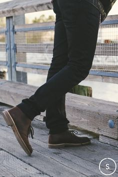 Clarks Desert Boots: iconic since the days of Steve McQueen. Available on SHOES.COM now.