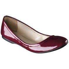 Women's Mossimo Supply Co. Ona Side Scrunch Ballet Flat