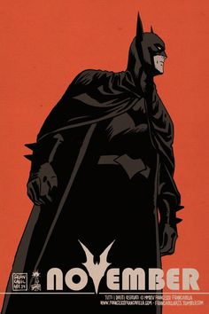 francavillarts:                              BAT-NOVEMBER!Art by Francesco Francavilla  Planning a Bat-themed November to celebrate the 75th Anniversary of Batman before the year is over.  It will be almost a every-day-in-November thing: each day there will be either original art, remarqued HC, or limited prints for sale. And being November, maybe it's the perfect time to plan Xmas gift for a friend, your significant other, or -even better- for yourself :)It's gonna be as fun as October I…