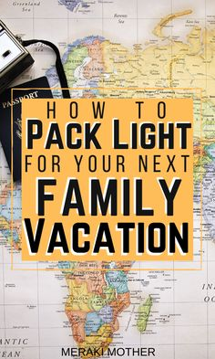 All the tips and tricks every mom and dad need to know for packing light on your next family vacation! Family Vacation Quotes, Family Vacation Shirts, Family Vacation Destinations, Family Trips, Family Travel, Family Fun Night, Packing Light, Good Parenting, Travel Planner