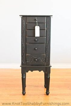 Los Angeles: Large Standing Jewelry Cabinet Box $65 - http://furnishlyst.com/listings/203501