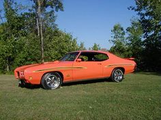 1970 GTO Judge. My own was not a judge but just as cool...