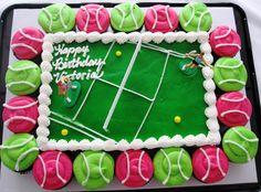 my drivel: It's a TENNIS THEME Birthday!