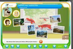 wędrówki z mapą Polski - krajobrazy
