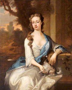 Lady Charlotte Herbert, later Lady Charlotte Morris ~ ca1710-20, Michael Dahl I
