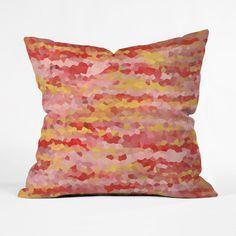 Color Point Throw Pillow Cover | dotandbo.com  #pillow #throwpillow #art #abstract #homedcor #denydesigns