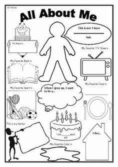 About Me Worksheet (First Day of School Activity) This is an awesome FREE worksheet as a 'getting to know you' activity on the first day of school.This is an awesome FREE worksheet as a 'getting to know you' activity on the first day of school. Get To Know You Activities, First Day Activities, Classroom Activities, Icebreaker Activities, Preschool Curriculum Free, Daycare Curriculum, Back To School Activities Ks2, All About Me Activities For Toddlers, Icebreakers For Kids