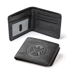 Present your S.H.I.E.L.D. ID in style with Marvel's Agents of S.H.I.E.L.D. RFID Blocking Wallet. No one will ever doubt that you work for the organization again.  It has plenty of room for all of your cash and cards too. It will keep all of your things safe. It has a debossed S.H.I.E.L.D.