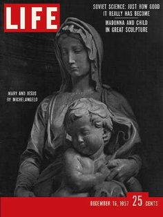 """Great Sculptures - Life Magazine, December 16, 1957 issue - Visit http://oldlifemagazines.com/the-1950s/1957/december-16-1957-life-magazine.html to purchase this issue of Life Magazine. Enter """"pinterest"""" at checkout for a 12% discount. - Great Sculptures"""