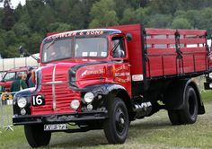 Vintage Trucks, Old Trucks, Bedford Truck, Old Lorries, Commercial Vehicle, Fire Engine, Classic Trucks, Old Cars, Buses