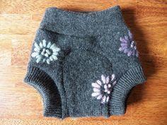 I Love Diaper Cover MERINO WOOL baby cloth soaker custom embroidered mom mum dad
