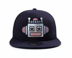 Robot Snapback Baseball Cap / Hat