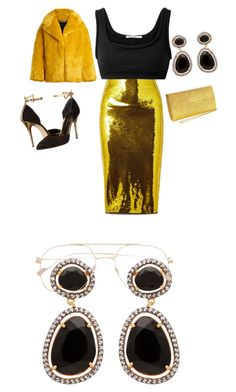 """""""Love It"""" by yve-mutuyeyezu on Polyvore featuring beauty, Tom Ford, T By Alexander Wang, Oscar de la Renta, Diane Von Furstenberg and Carousel Jewels"""
