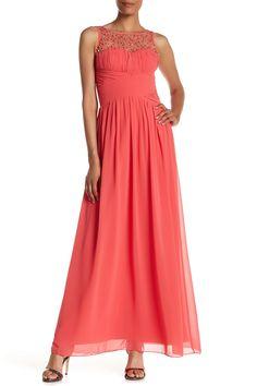 Embellished Maxi Dress by Little Mistress on @HauteLook