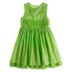 Be different!! Not your average flowergirl colour. This is very pretty and can easily be worn after the event.